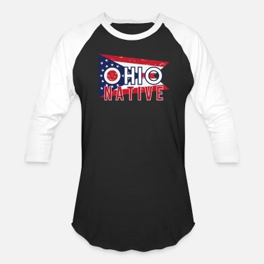 Vintage Ohio Pride OH Ohio Native Gift for Home State Pride - Baseball T-Shirt