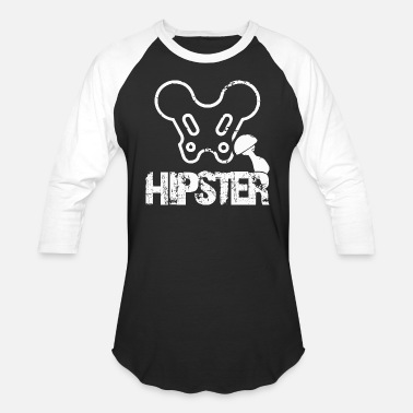 Hipster Funny | Hip Surgery Design - Unisex Baseball T-Shirt
