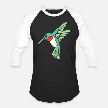 Ornithology Hummingbird - dicky ticker hummingbird - Unisex Baseball T-Shirt