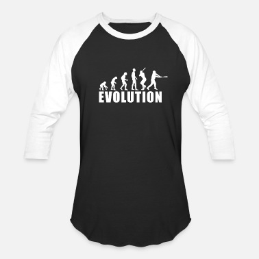 Primitive Man EVOLUTION BASEBALL / FOR WOMAN, MAN AND KIDS - Unisex Baseball T-Shirt