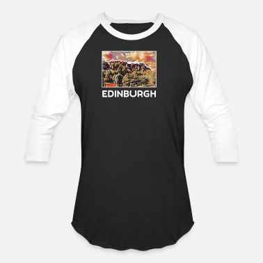 Edinburgh Edinburgh Holidays Vacation City Souvenir - Unisex Baseball T-Shirt