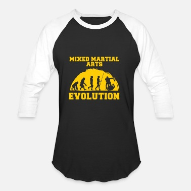 Martial Arts Mixed Martial Arts Evolution - Unisex Baseball T-Shirt