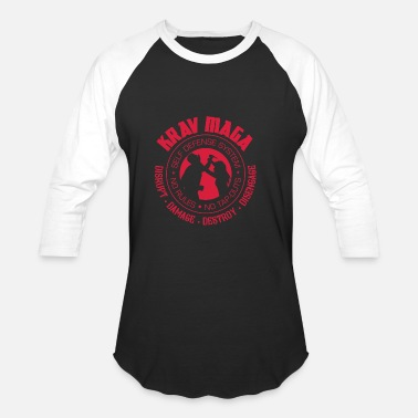 Self Defense Krav Maga Self Defense Military - Unisex Baseball T-Shirt