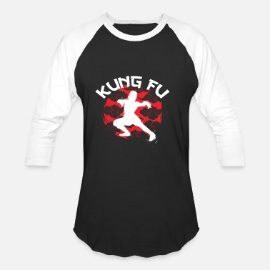 Chinese Kung Fu Martial Arts Kung Fu Martial Arts - Baseball T-Shirt