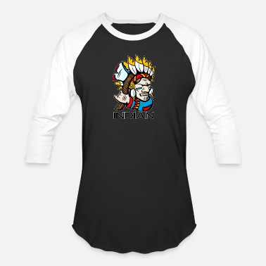 Canadian INDIAN - Baseball T-Shirt