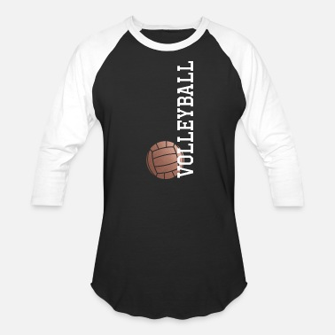 Volleyball Vertical Rose Gold Volleyball - Baseball T-Shirt