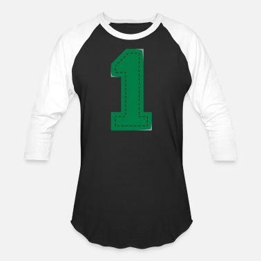 Offspring Number One Patch - Unisex Baseball T-Shirt