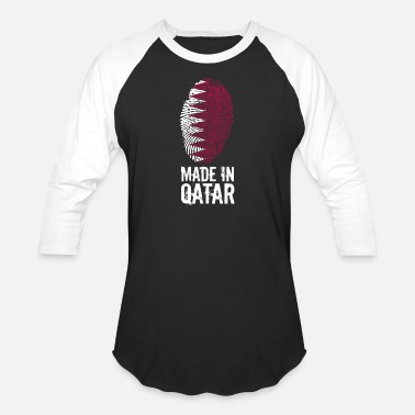 Doha Made In Qatar / قطر - Baseball T-Shirt