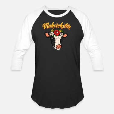 Allusion Muhviehstar | Moviestar Cow Moviestar Gift Idea - Baseball T-Shirt