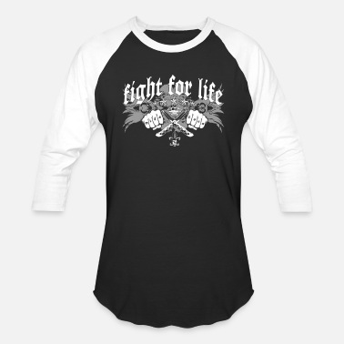 Fight Ultra Fight for Life - Unisex Baseball T-Shirt