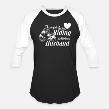 Mud Riding - this girl loves her riding husband - Unisex Baseball T-Shirt