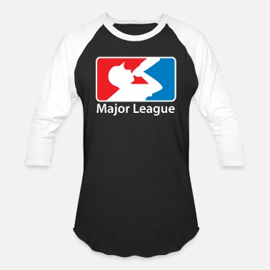 Major Beer - major league beer drinking - Unisex Baseball T-Shirt