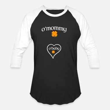 Pregnancy O'Mommy | St. Patrick's Day Pregnancy Announcement - Baseball T-Shirt
