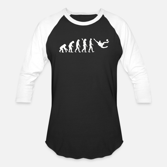 Usa T-Shirts - Soccer - evolution soccer - Unisex Baseball T-Shirt black/white