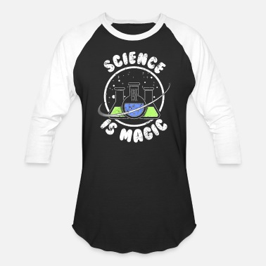 Earth Science Science Is Magic Science Teacher - Baseball T-Shirt