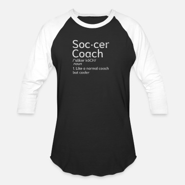 Soccer Coach Gift Soccer Coach Coaching Definition Gift - Baseball T-Shirt