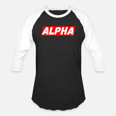 Alpha ALPHA - Baseball T-Shirt
