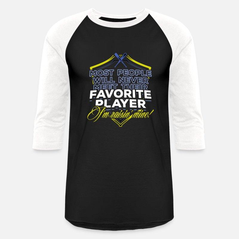 fc42c6f2 Softball fan Gift ideas Softball Mom Funny meme quote sports Unisex Baseball  T-Shirt | Spreadshirt