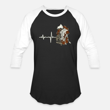 Reserve Native gift heartbeat native american - Baseball T-Shirt