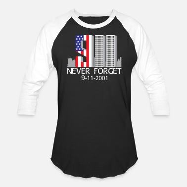 Inside 9/11 never forget - Baseball T-Shirt