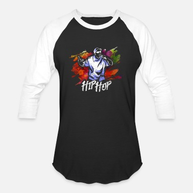 Rapper Hip Hop Music Gift - Unisex Baseball T-Shirt