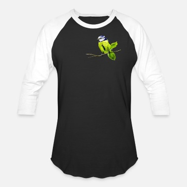 Anime Tits Blue Tit - Unisex Baseball T-Shirt