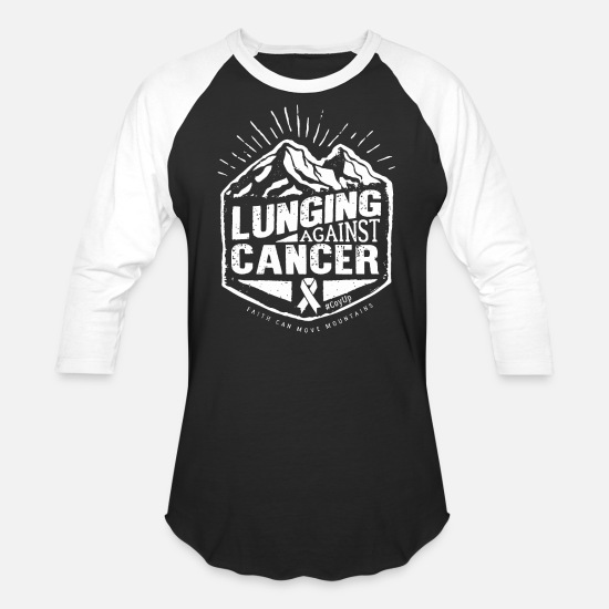 Cancer T-Shirts - Cancer Awareness - Unisex Baseball T-Shirt black/white