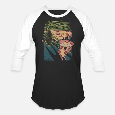 Pizza Nightmare - Baseball T-Shirt