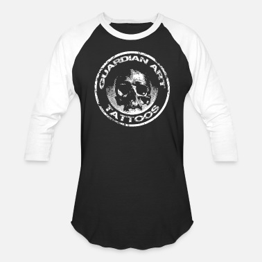 Tattoo Guardian Art Tattoos Skull - Baseball T-Shirt