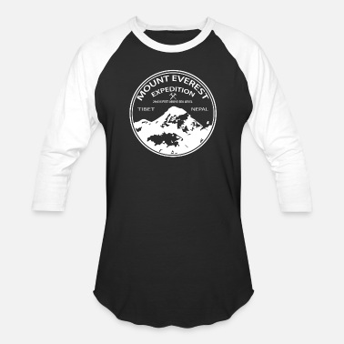 Expedition Mount Everest Expedition - Unisex Baseball T-Shirt