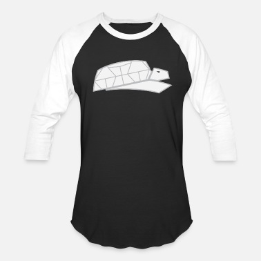 Turtle Go - Unisex Baseball T-Shirt