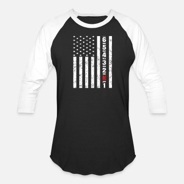 Crotch Rocket American Motorcycle Crotch Rocket Gear Shifting - Baseball T-Shirt