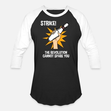 Beer Revolution Revolution Cannot Spare You Bowling Strike - Baseball T-Shirt