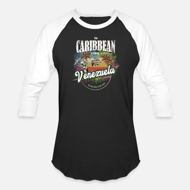 Venzuela The Caribbean is calling - Unisex Baseball T-Shirt