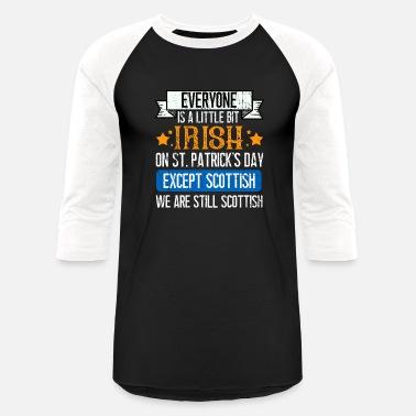 d8b6b160 Scottish Irish St Patricks Day brave Scottish Drunk Beer Paddy - Unisex  Baseball T-Shirt