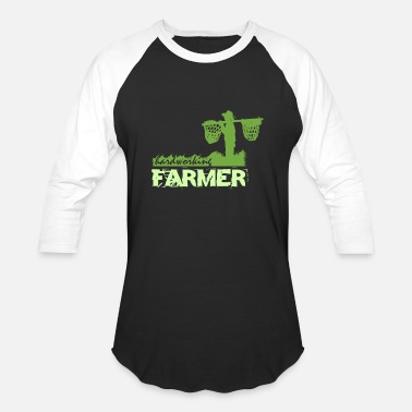 Hardworking Hardworking Farmer - Unisex Baseball T-Shirt