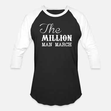 Million Man March The Million Man March - Baseball T-Shirt