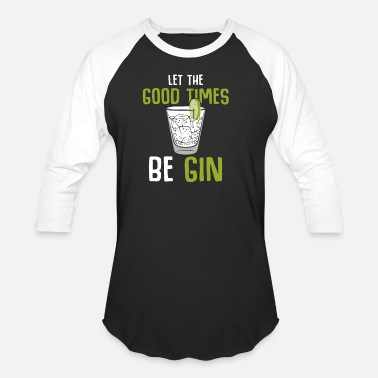 Cocktail Gin - Unisex Baseball T-Shirt