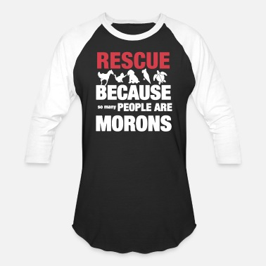 Rescue The Animal Rescue Shirt - Baseball T-Shirt