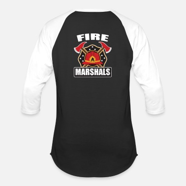 Firefighter - Fire Marshals - Unisex Baseball T-Shirt