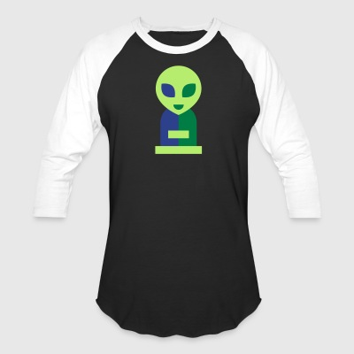 alien cutie - Baseball T-Shirt