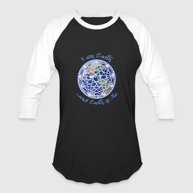 Earth Mandala Tee - Baseball T-Shirt