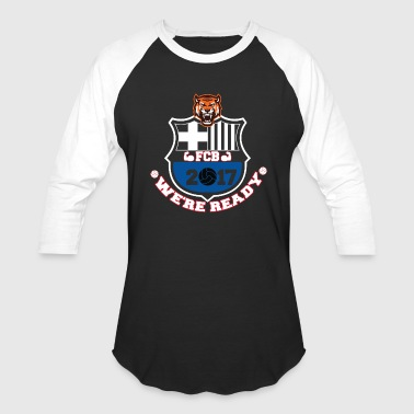 FC Barcelona Football Shirts 2017 - Baseball T-Shirt