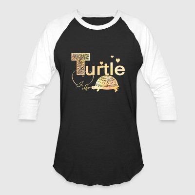 Turtle Shirt - Baseball T-Shirt