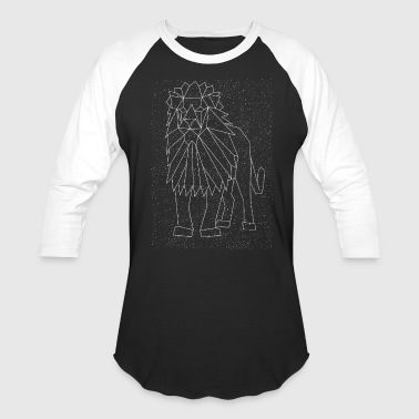 Lion Constellation - Baseball T-Shirt