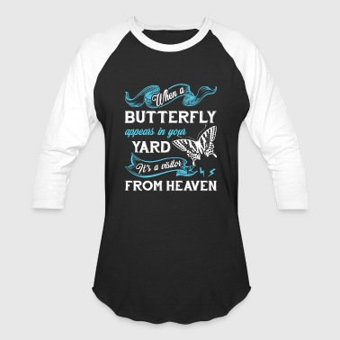 Butterfly Shirt - Baseball T-Shirt