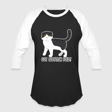 Scottish Fold Shirt - Baseball T-Shirt