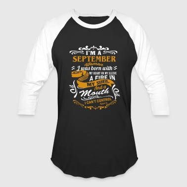 I'm a September woman - Baseball T-Shirt