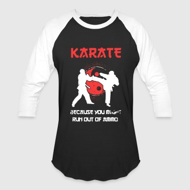 Love Karate Shirt - Baseball T-Shirt