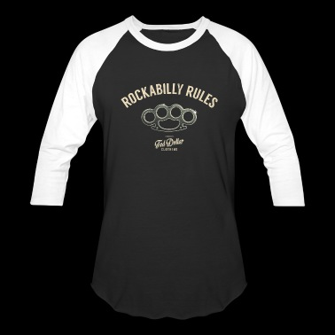 Rockabilly Rules - Baseball T-Shirt